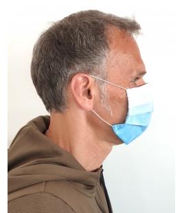 Behelfs-Mund-Nasen-Maske 3-lagig, mit Druck